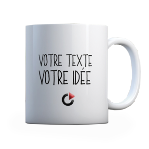 Mug sublimation publicitaire opac