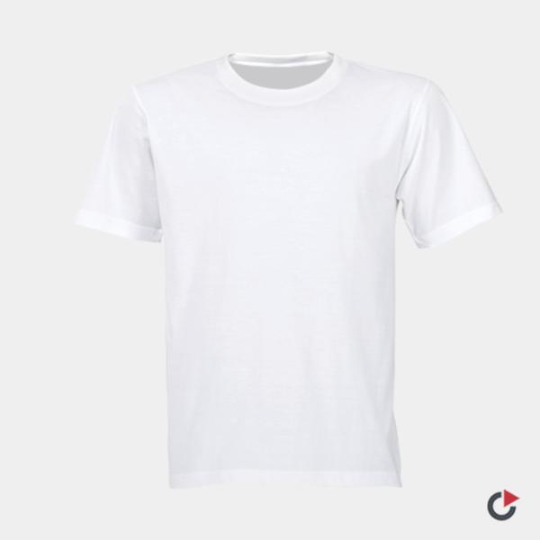 tshirt personnalisé blanc
