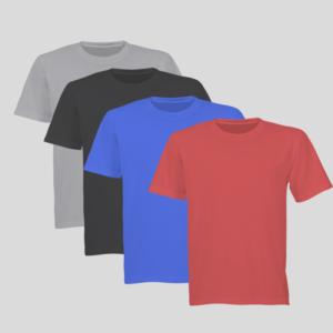 tshirt personnalisé couleurs col rond