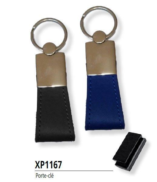 Porte clé Tunisie en cuir XP1167