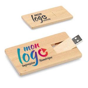 Clé USB écologique carte bancaire F104B