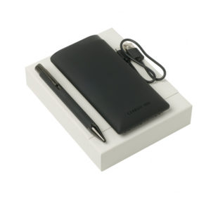 Coffret cerruti powerbank NPBB812D